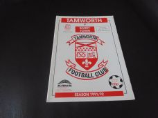 Tamworth v Barry Town, 1991/92